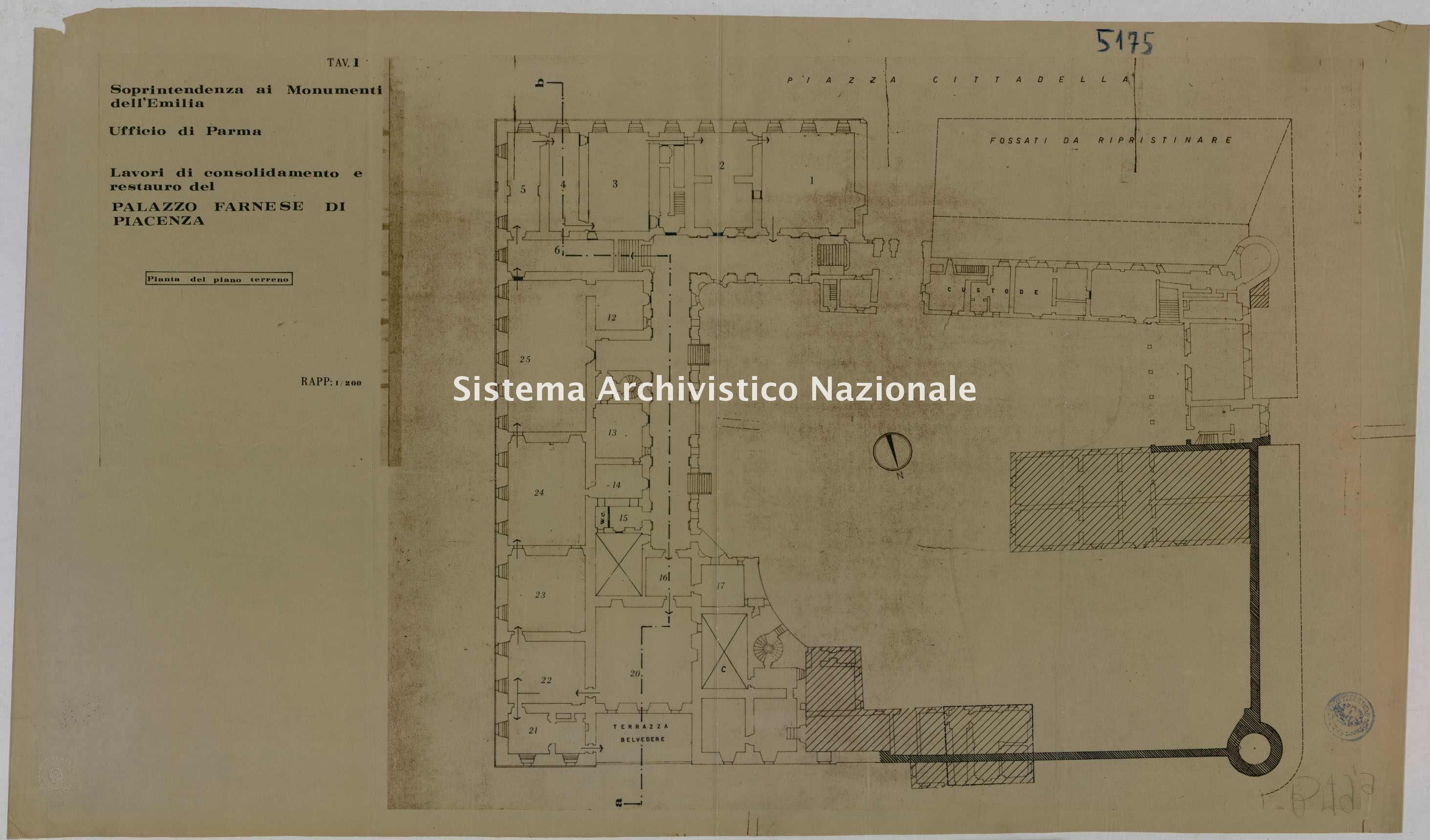 ASPC Mappe, stampe e disegni, n. 5175