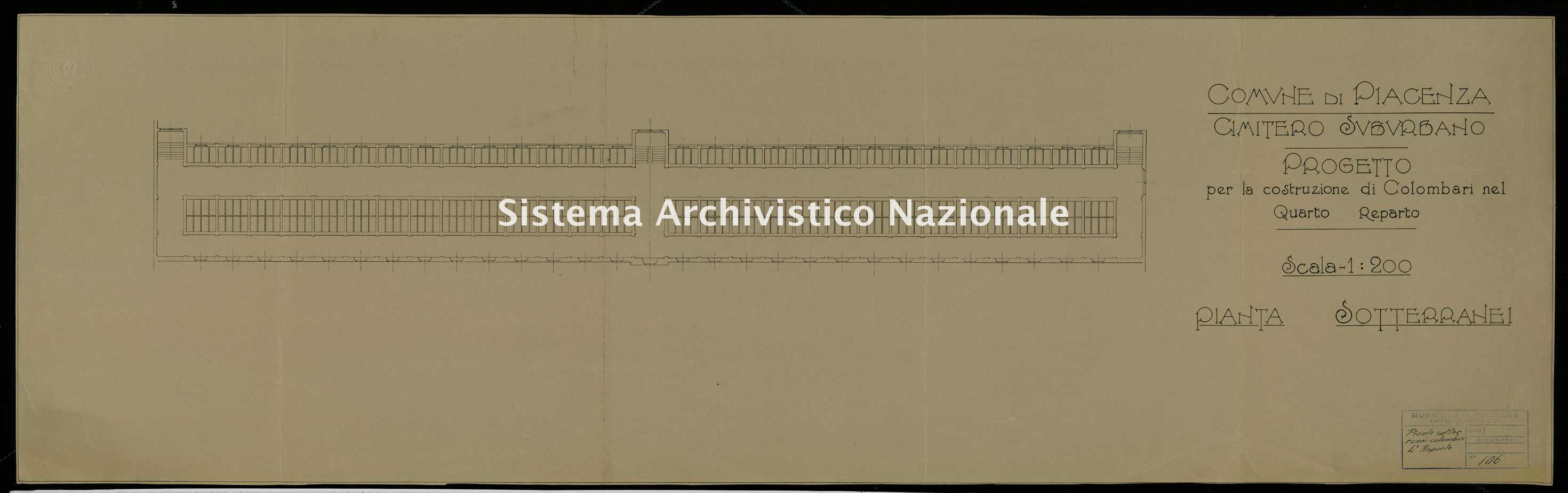 ASPC Mappe, stampe e disegni, n. 5222