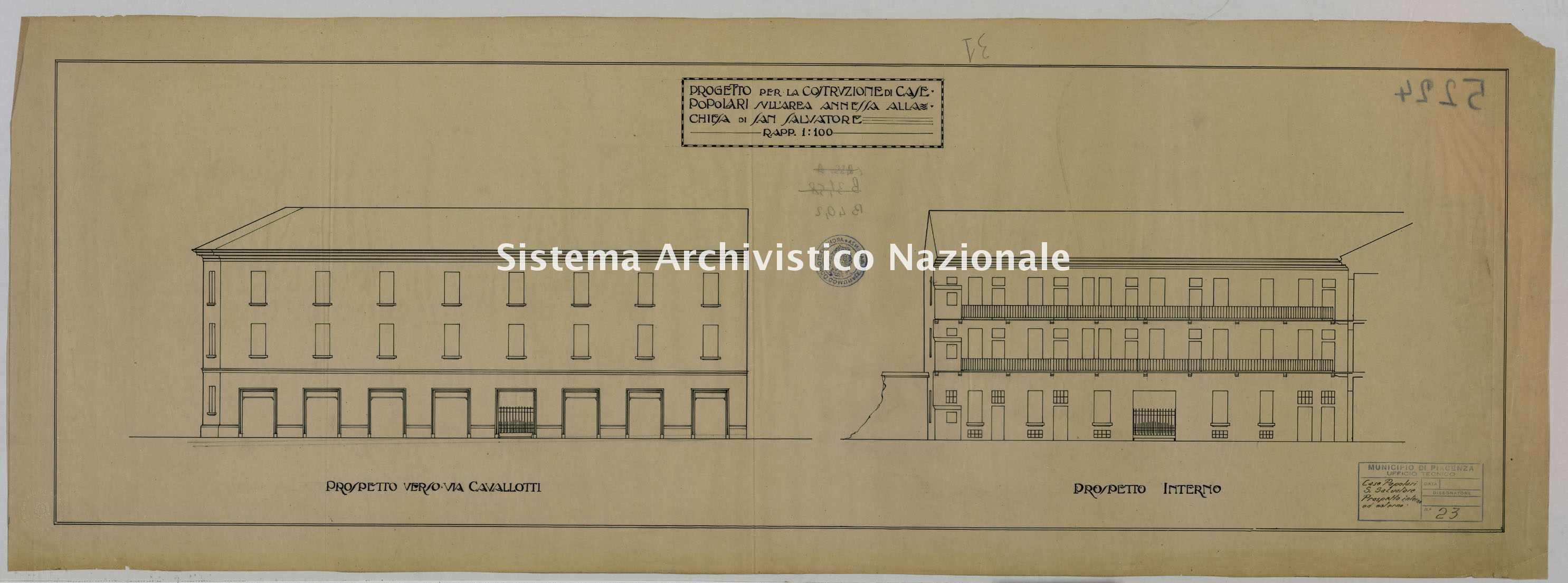 ASPC Mappe, stampe e disegni, n. 5224