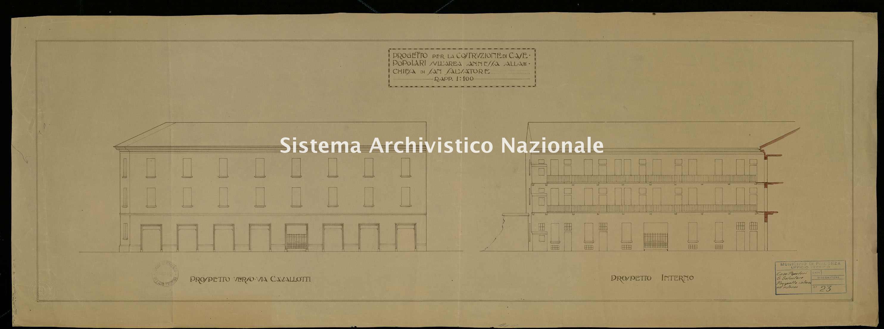 ASPC Mappe, stampe e disegni, n. 5225