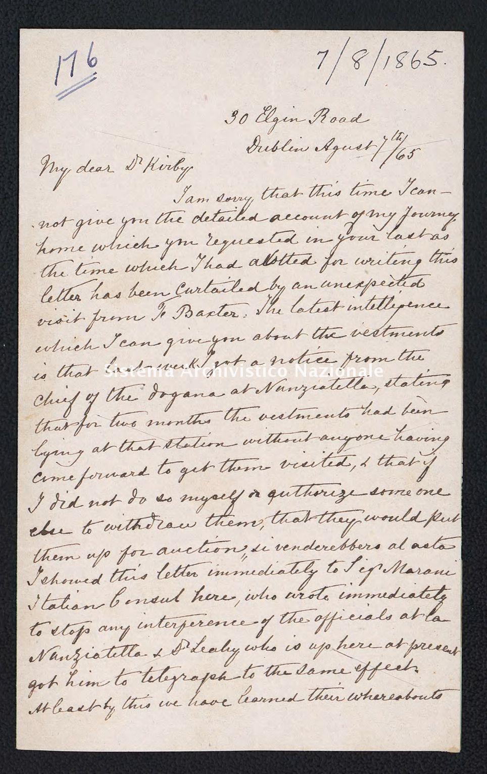 Pontificio Collegio Irlandese - Kirby_1865_176