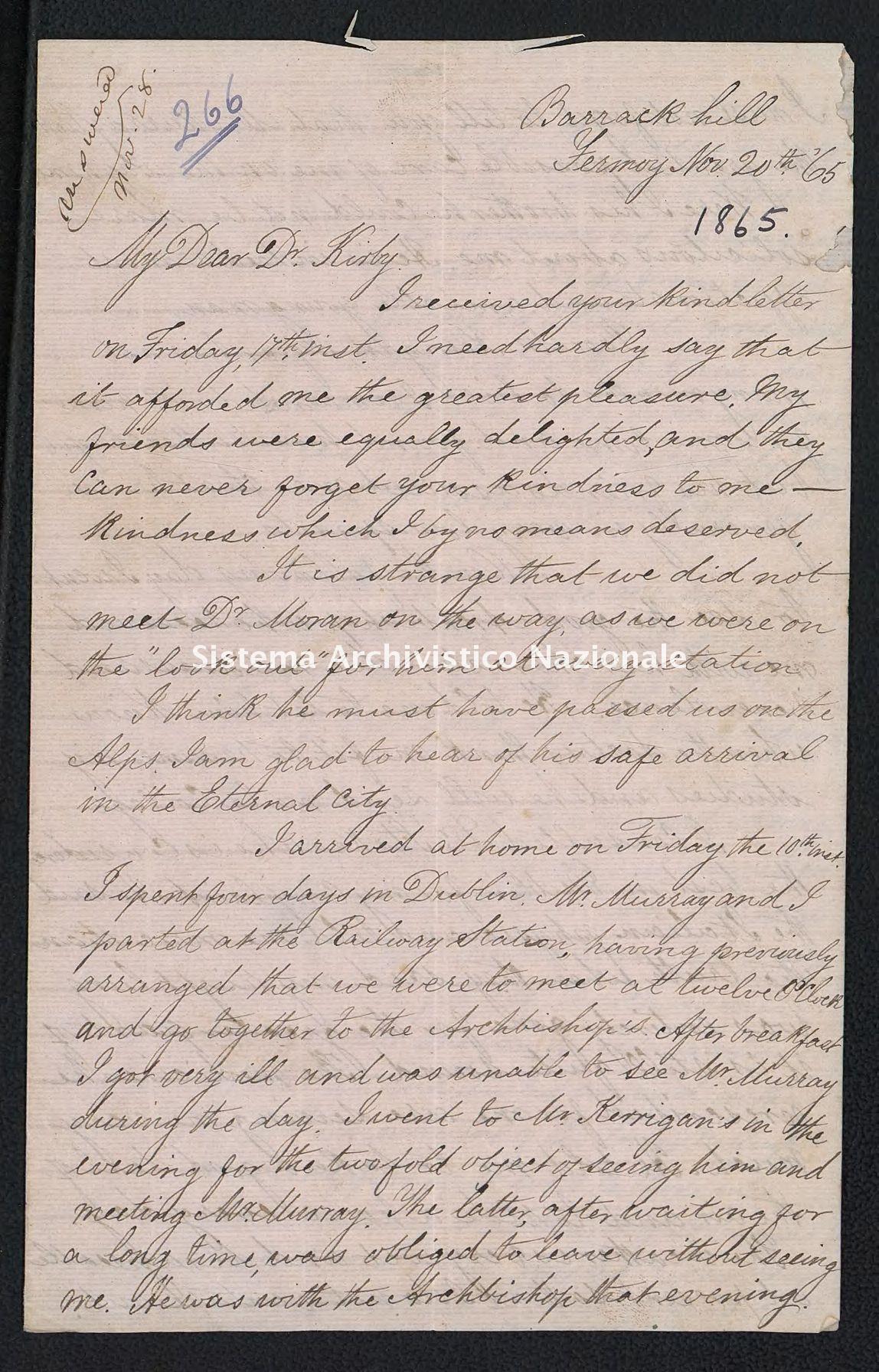 Pontificio Collegio Irlandese - Kirby_1865_266
