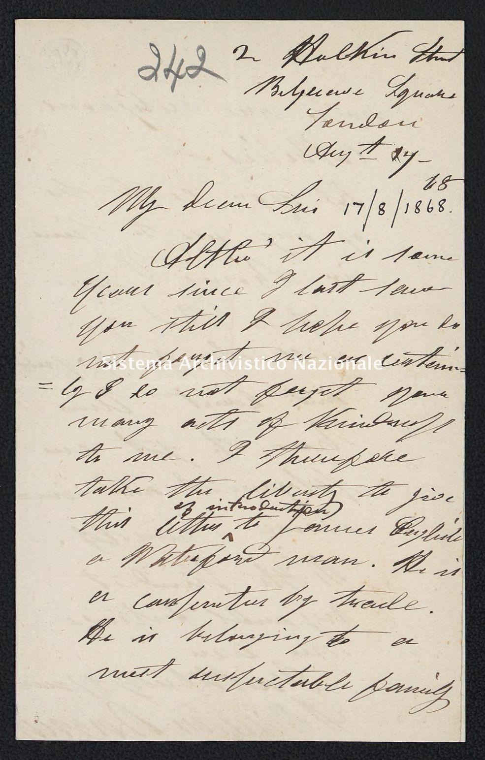 Pontificio Collegio Irlandese - Kirby_1868_242