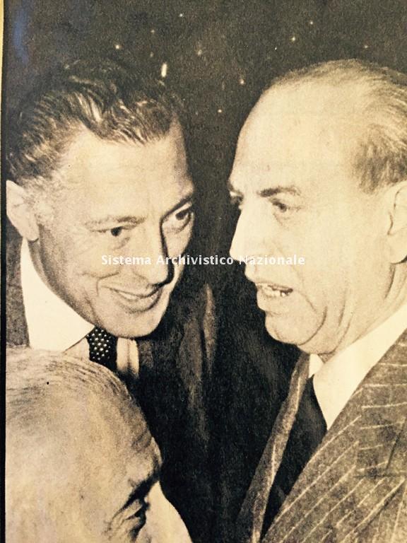 Giustiniani con Agnelli e Valletta, 1963