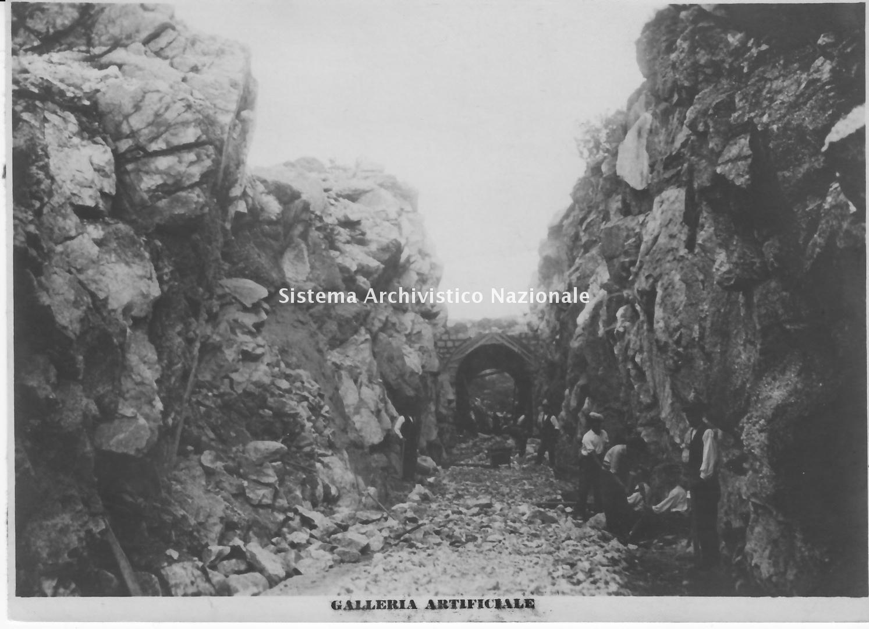 Antonio Franzil, Acquedotto consorziale Castelsardo - Codaruina - Santa Maria Coghinas, 1933-1935