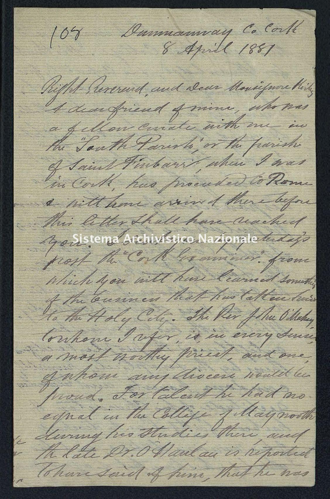 Pontificio Collegio Irlandese - Kirby_1881_108