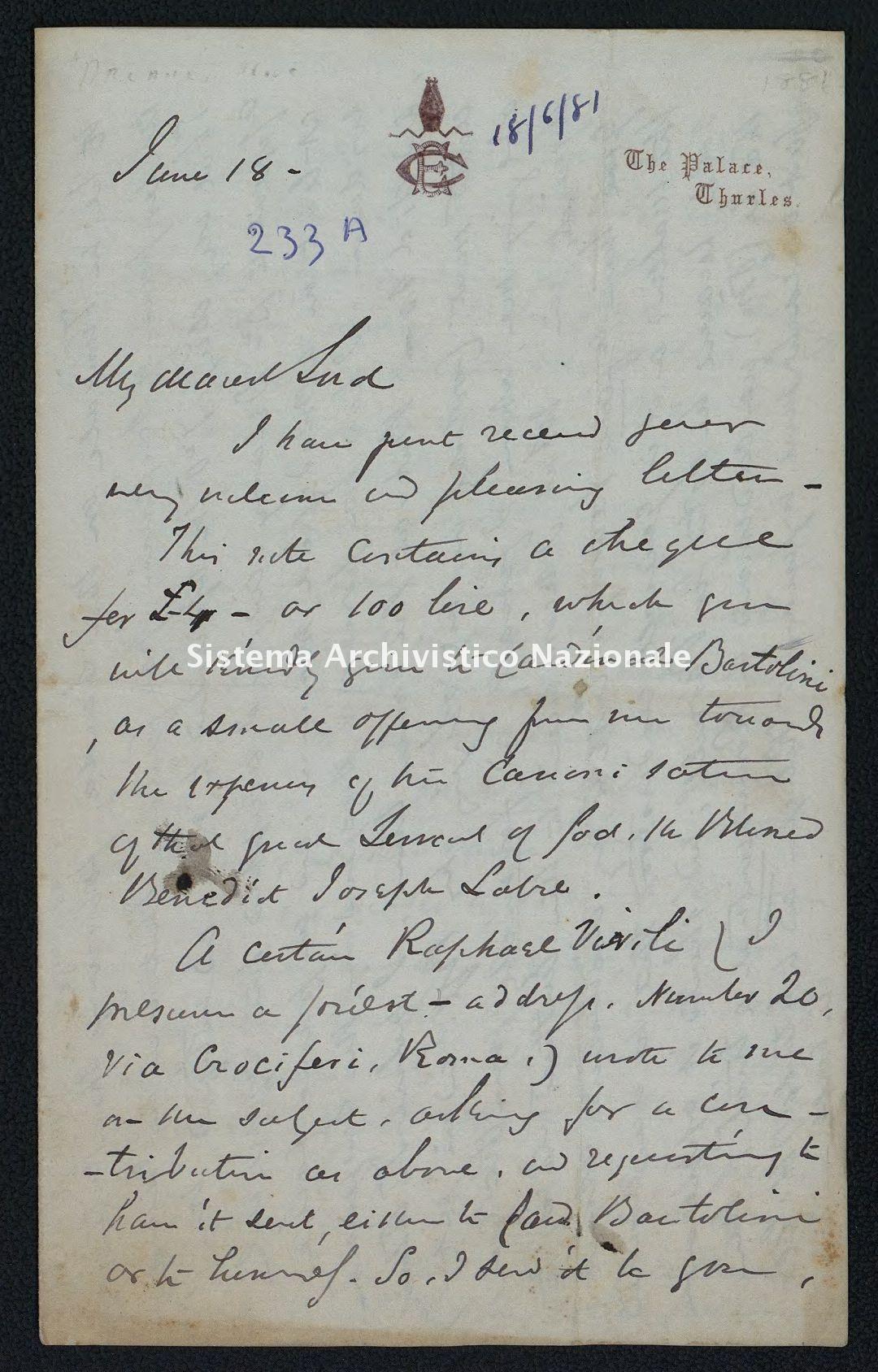 Pontificio Collegio Irlandese - Kirby_1881_233_a