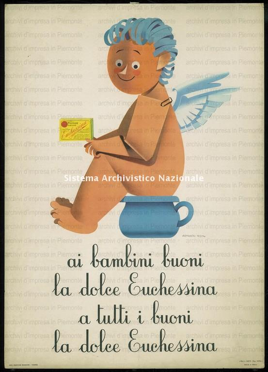 Antonetto Farmaceutici, lassativo Euchessina, 1960