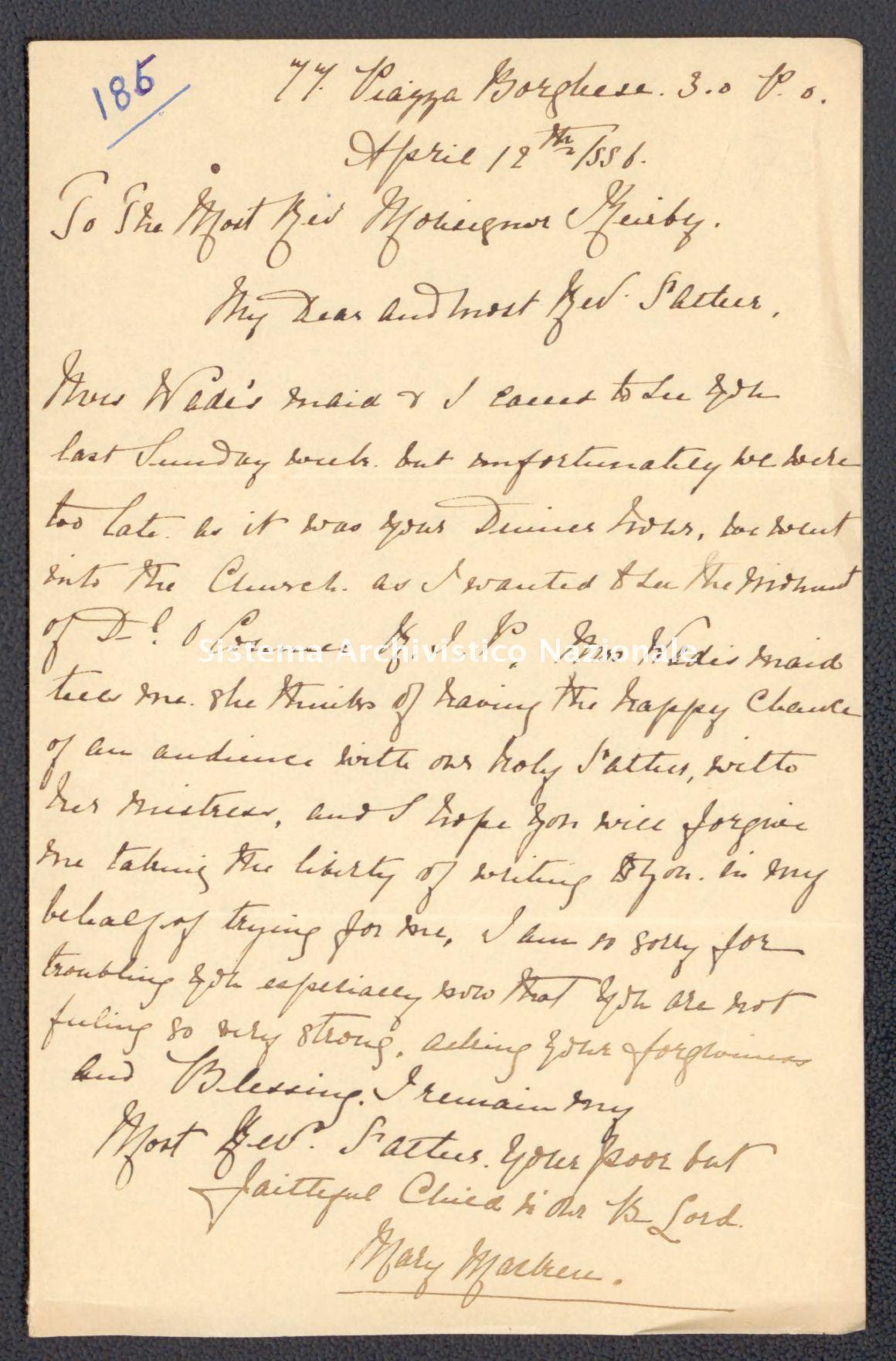 Pontificio Collegio Irlandese - Kirby_1886_185