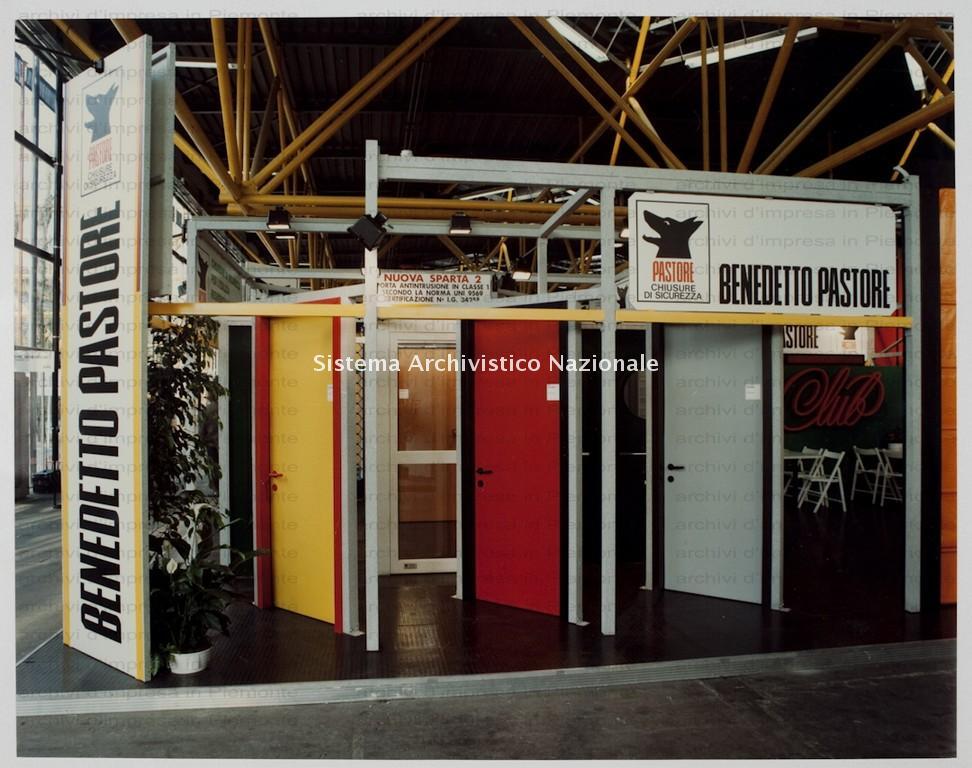 Pastore, Salone internazionale dell'industrializzazione edilizia, Bologna 1985-1986