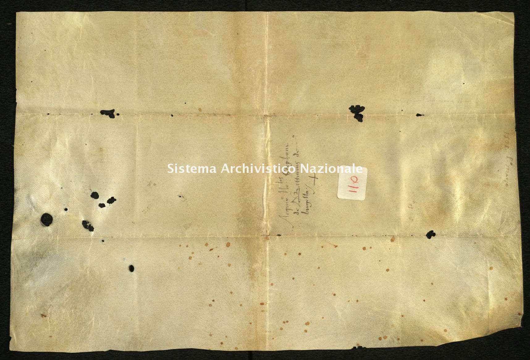 Archivio di Stato di Biella, Avogadro di Valdengo, Pergamene I, Biella 1 marzo 1501