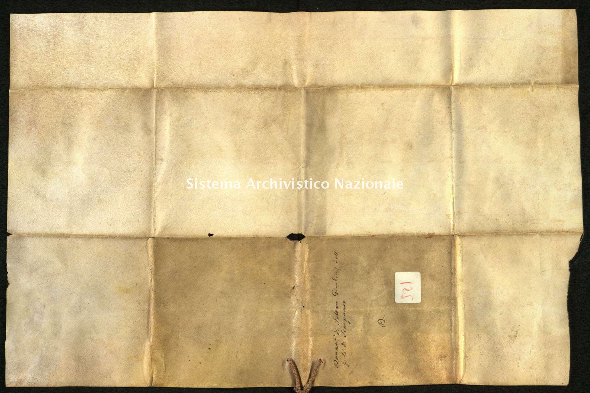 Archivio di Stato di Biella, Avogadro di Valdengo, Pergamene I, Torino 19 dicembre 1633