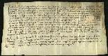 Archivio di Stato di Biella, Avogadro di Valdengo, Pergamene II, Collobiano 29 febbraio 1434