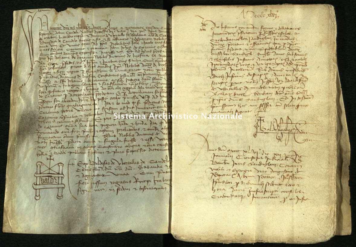 Archivio di Stato di Biella, Morra di Sandigliano, Pergamene, Candelo 24 settembre 1464