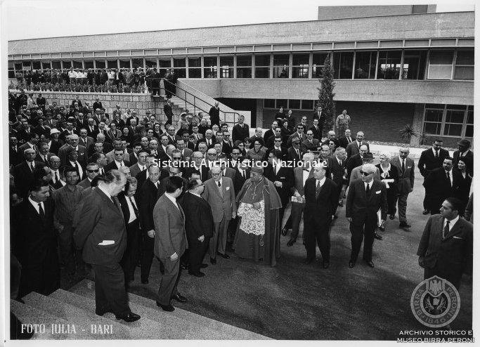 Birra Peroni, inaugurazione dello stabilimento di Bari, 1964