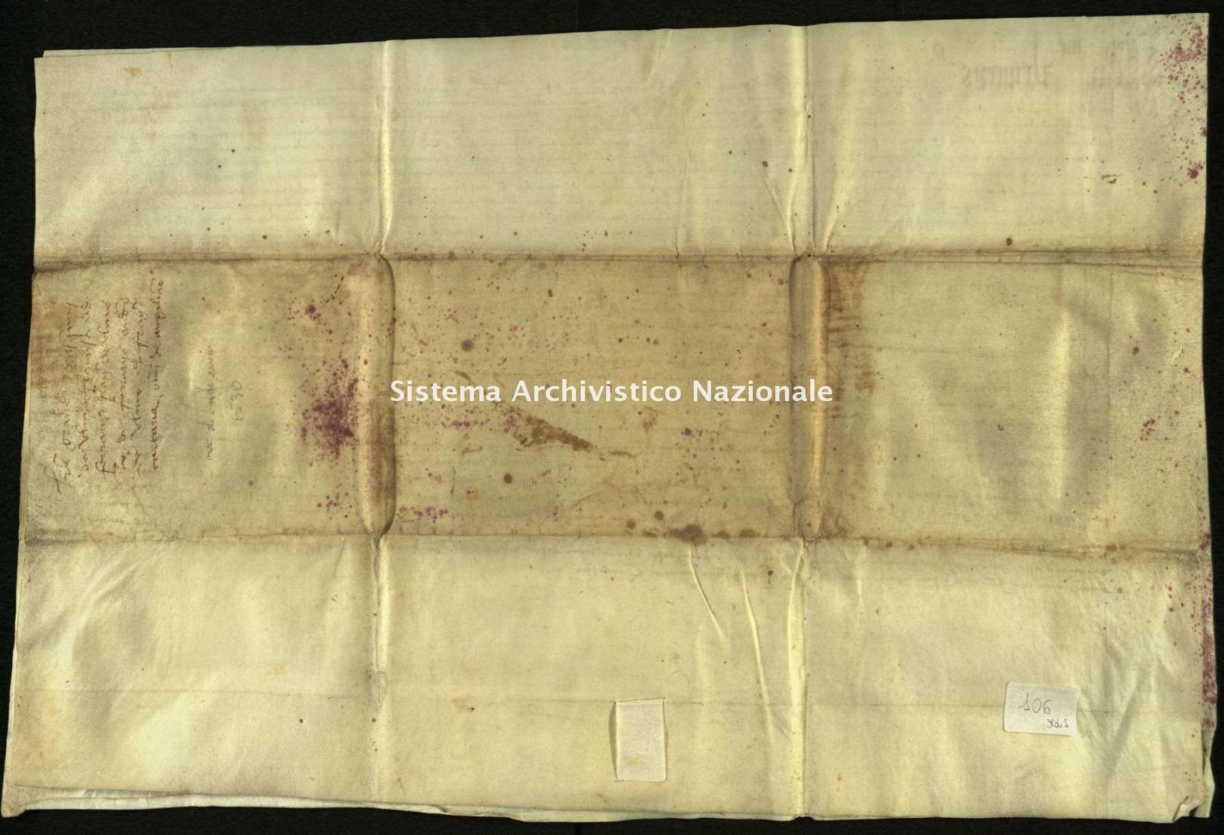 Archivio di Stato di Biella, Morra di Sandigliano, Pergamene, 1530
