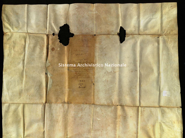 Archivio di Stato di Biella, Morra di Sandigliano, Pergamene, Biella Piazzo 17 settembre 1478