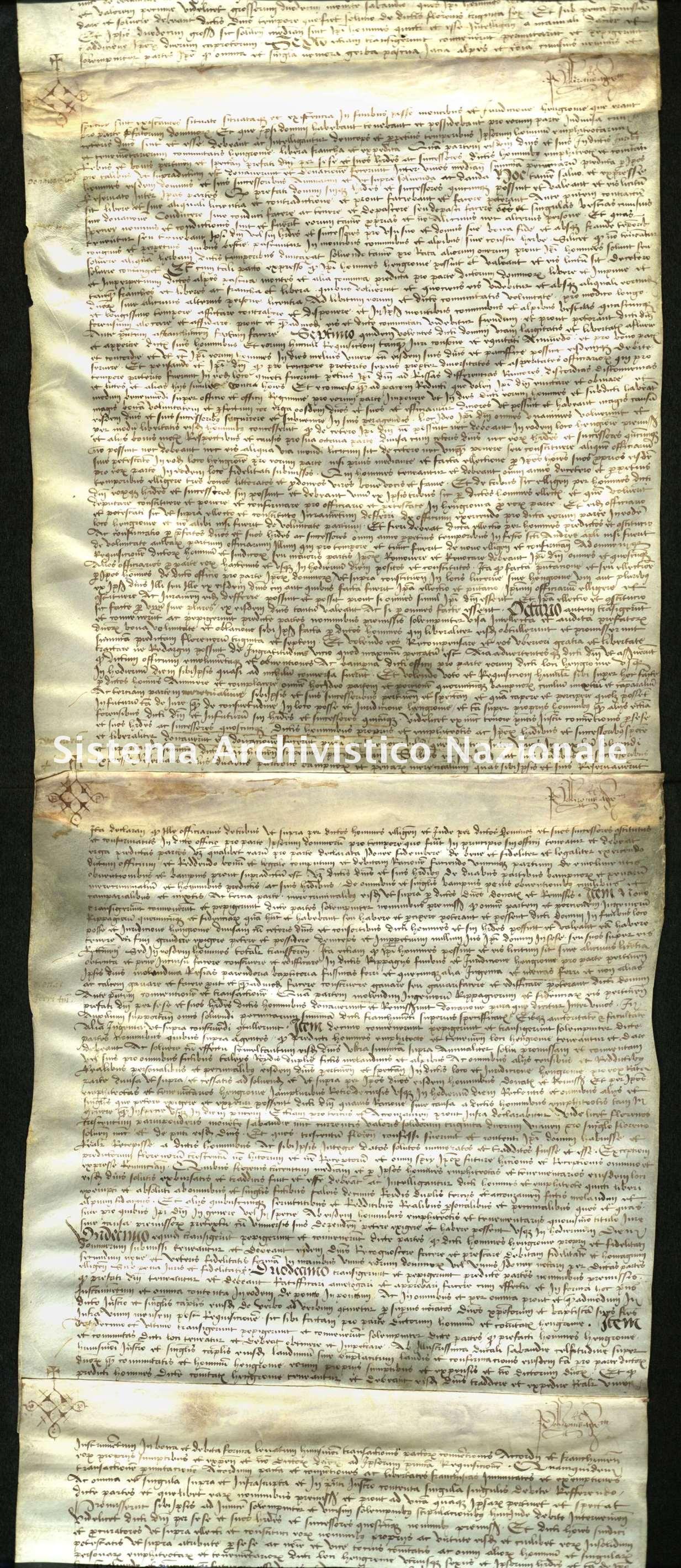 Archivio di Stato di Biella, Richelmy di Bovile, Pergamene, Luserna 30 marzo 1512