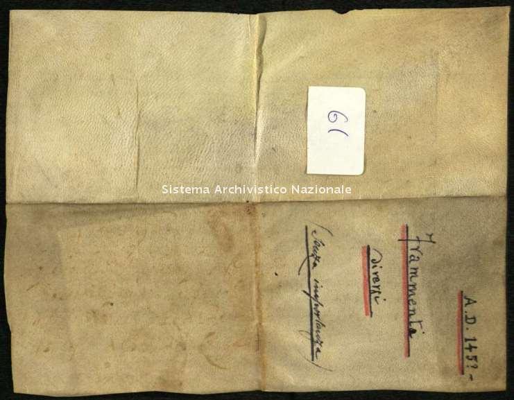 Archivio di Stato di Biella, Famiglia Gromo di Ternengo, Biella