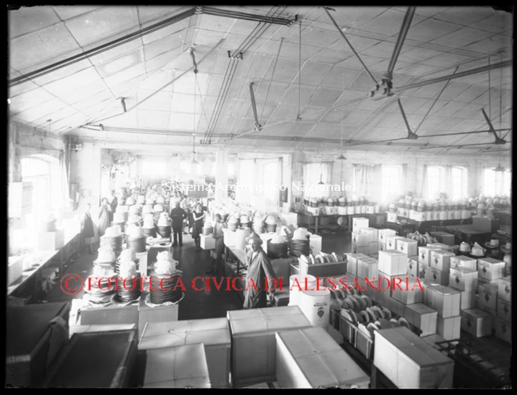 Borsalino, reparto imballaggio, Alessandria anni '30