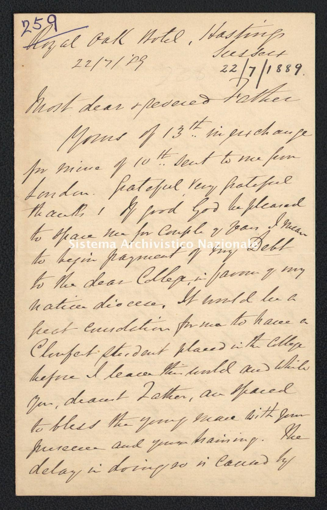 Pontificio Collegio Irlandese - Kirby_1889_259