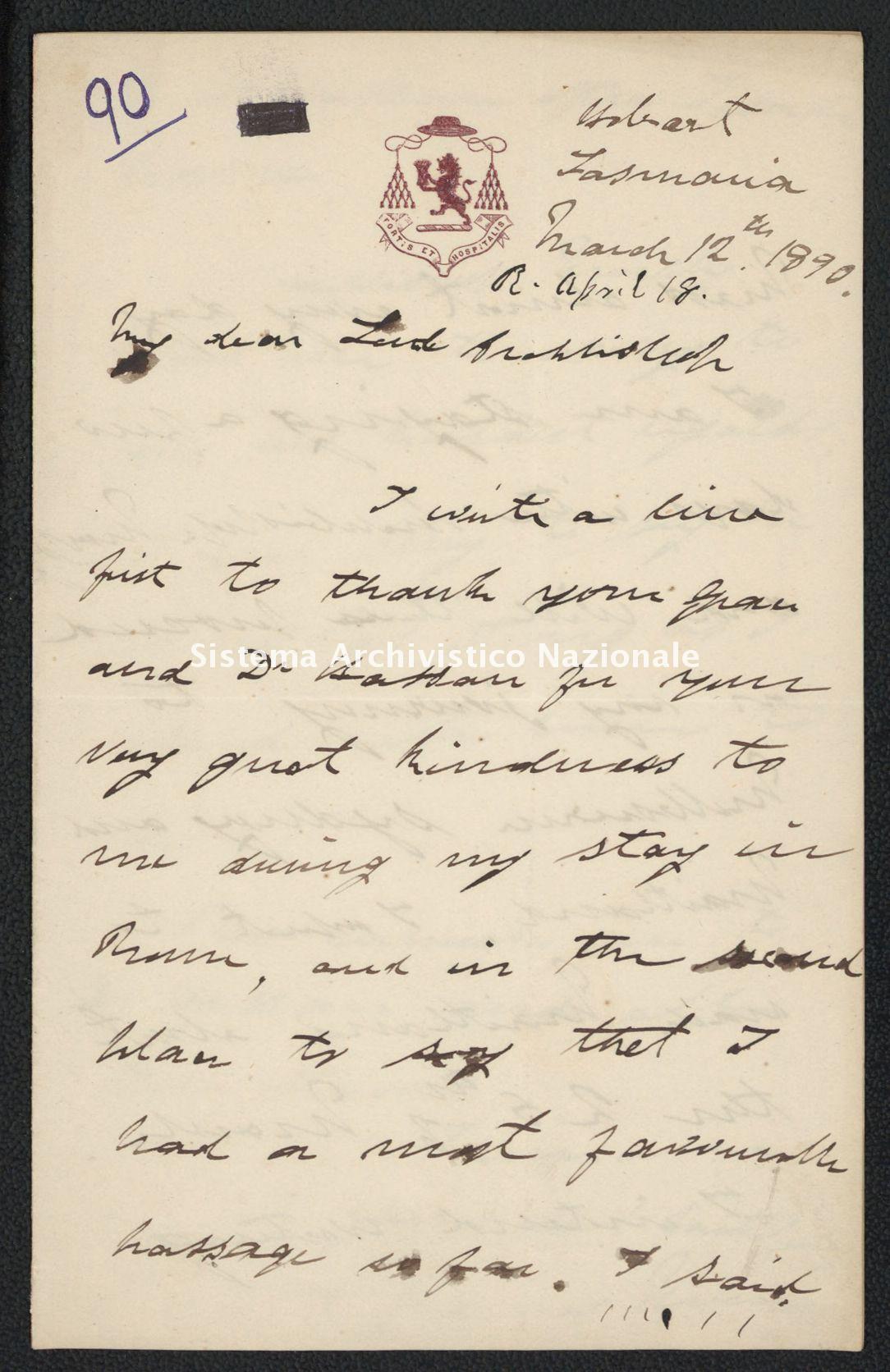 Pontificio Collegio Irlandese - Kirby_1890_90