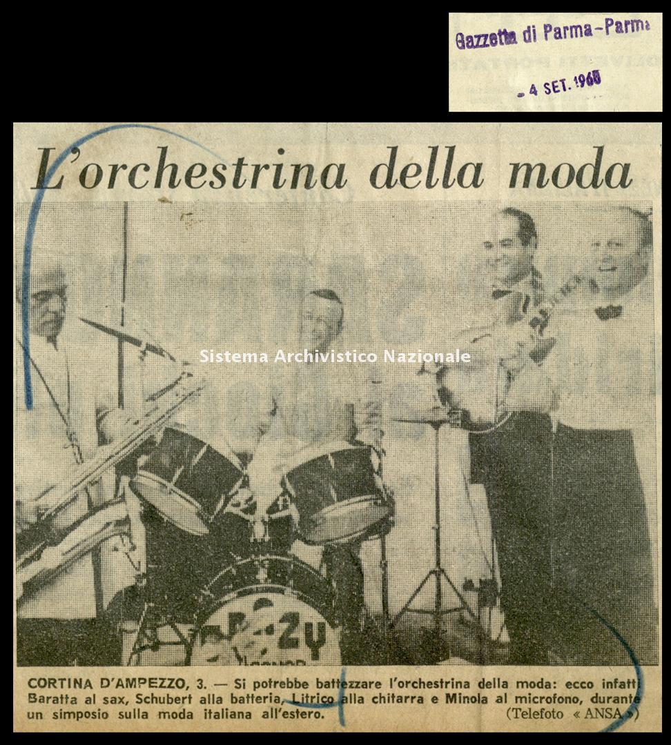 L'orchestrina della moda, 1968