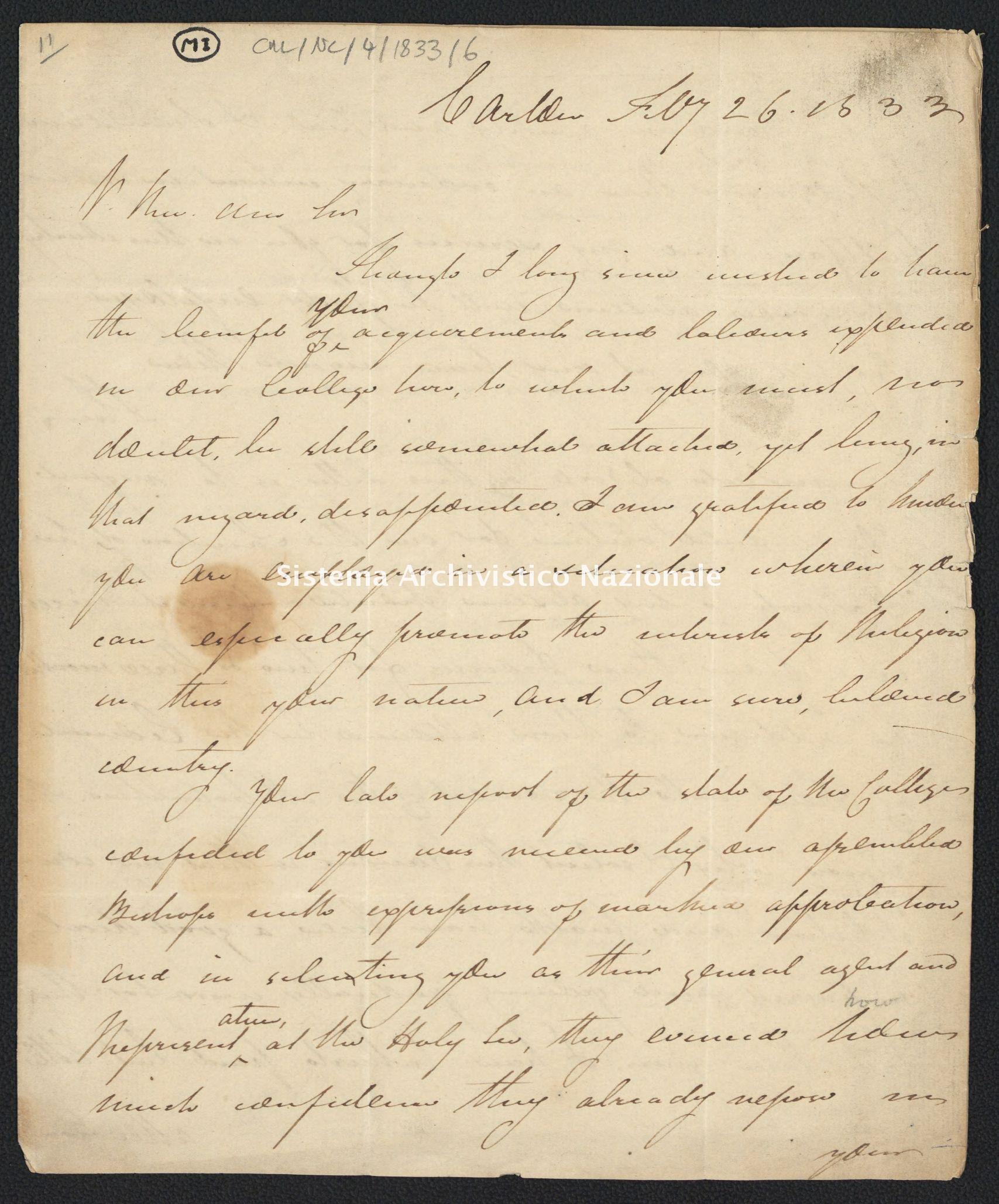 Pontificio Collegio Irlandese - CUL_NC_1833_6