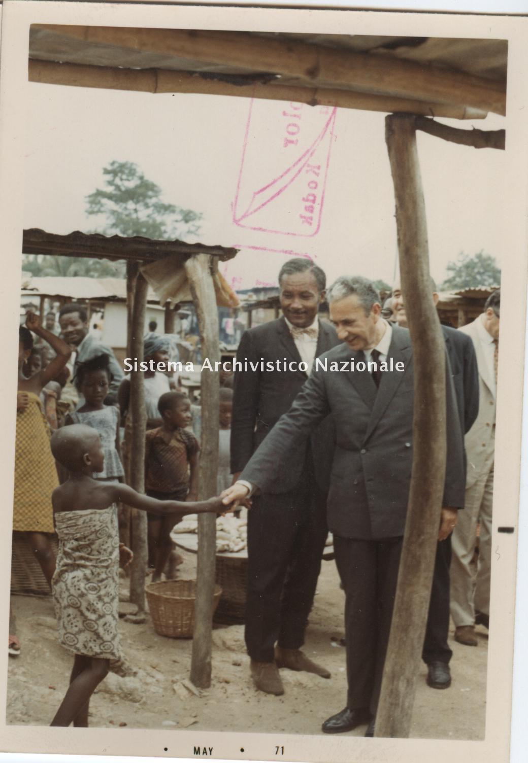Aldo Moro, Agadir 1971