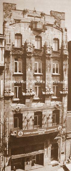 Raimondo D'Aronco, Casa Botter, Istanbul 1900-1901