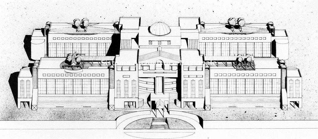Studio architetti Celli Tognon, Sede del Loyd Adriatico Assicurazioni, Trieste 1981-1987