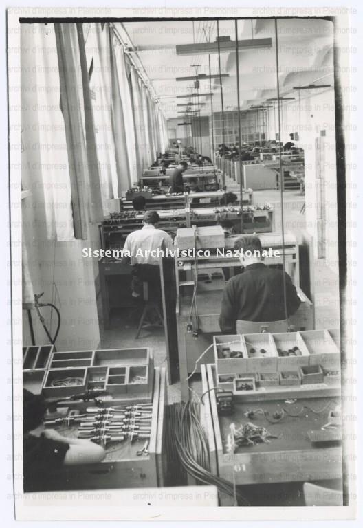 Stabilimento Olivetti, operai, Pozzuoli 1955-1969
