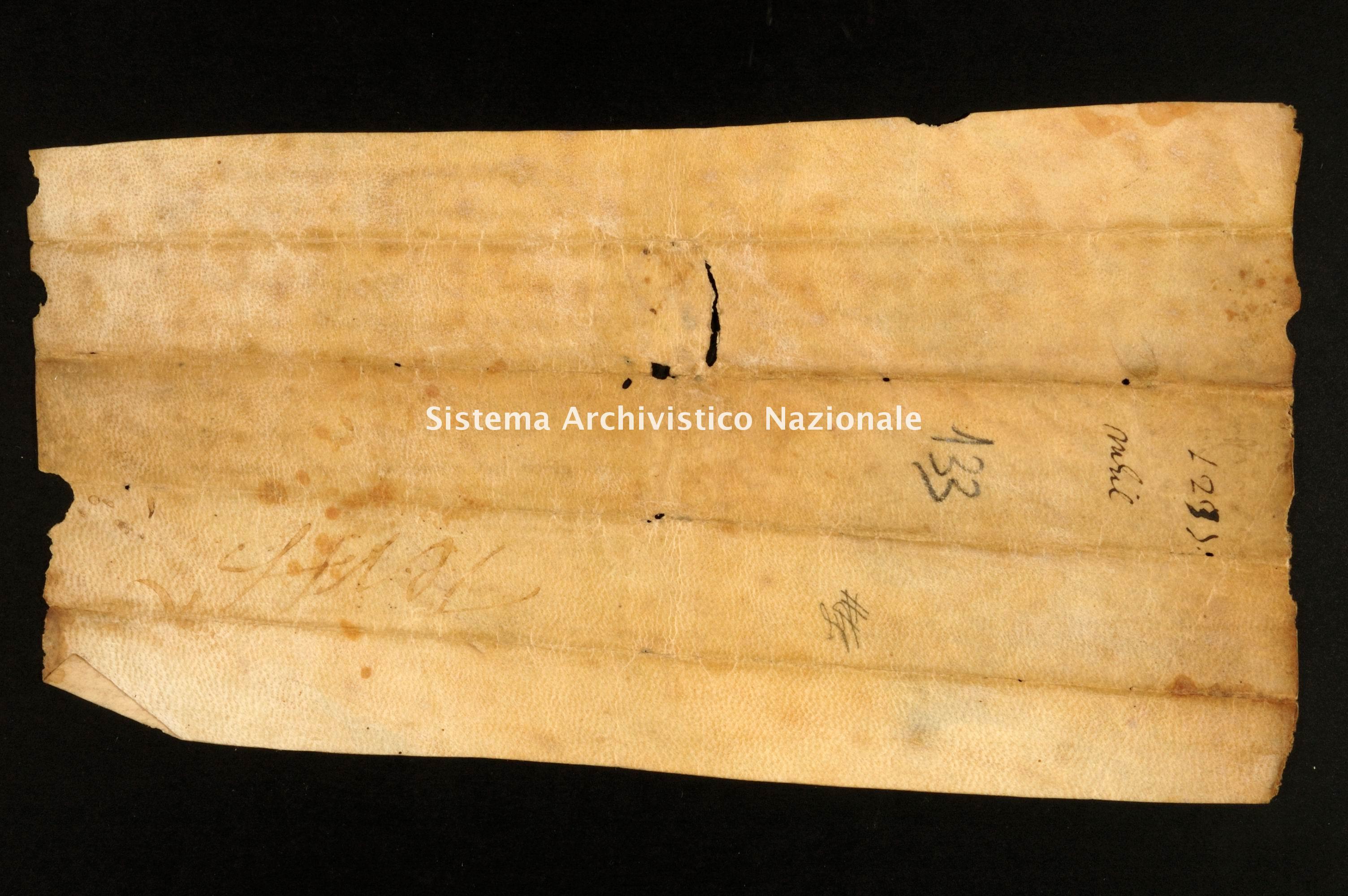 Archivio di Stato di Alessandria, Pergamene di Santa Eufemia di Tortona, monastero, pergamena 022