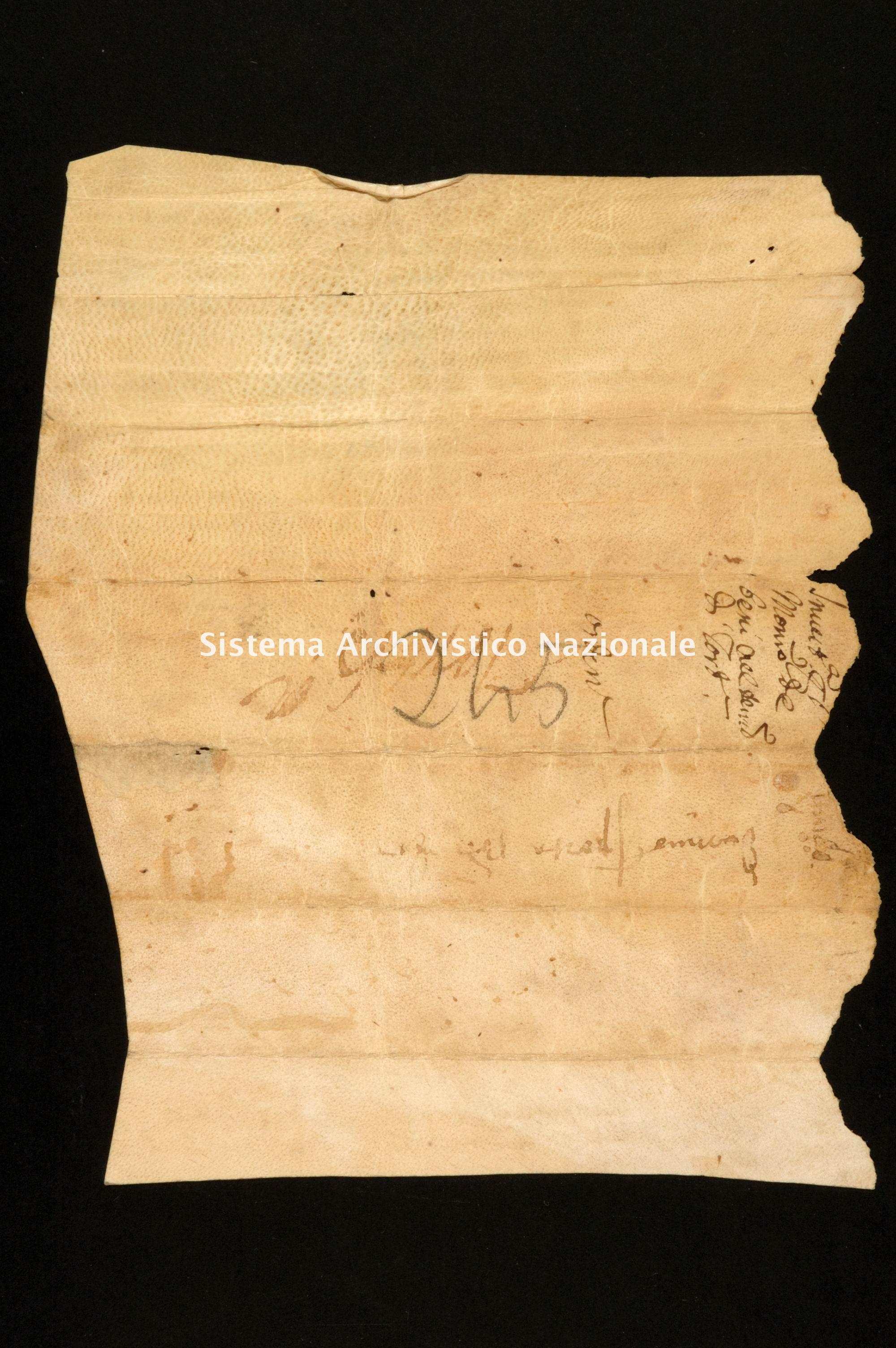 Archivio di Stato di Alessandria, Pergamene di Santa Eufemia di Tortona, monastero, pergamena 029