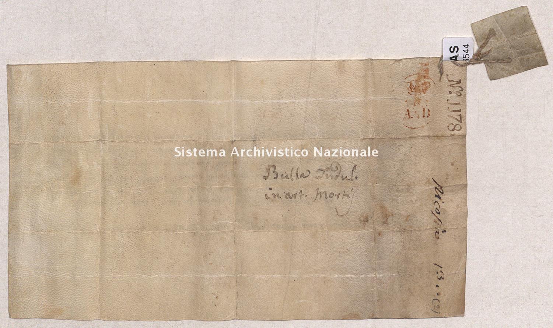 Archivio di Stato di Pisa, Diplomatico, Nicosia, Pergamena NIC06544