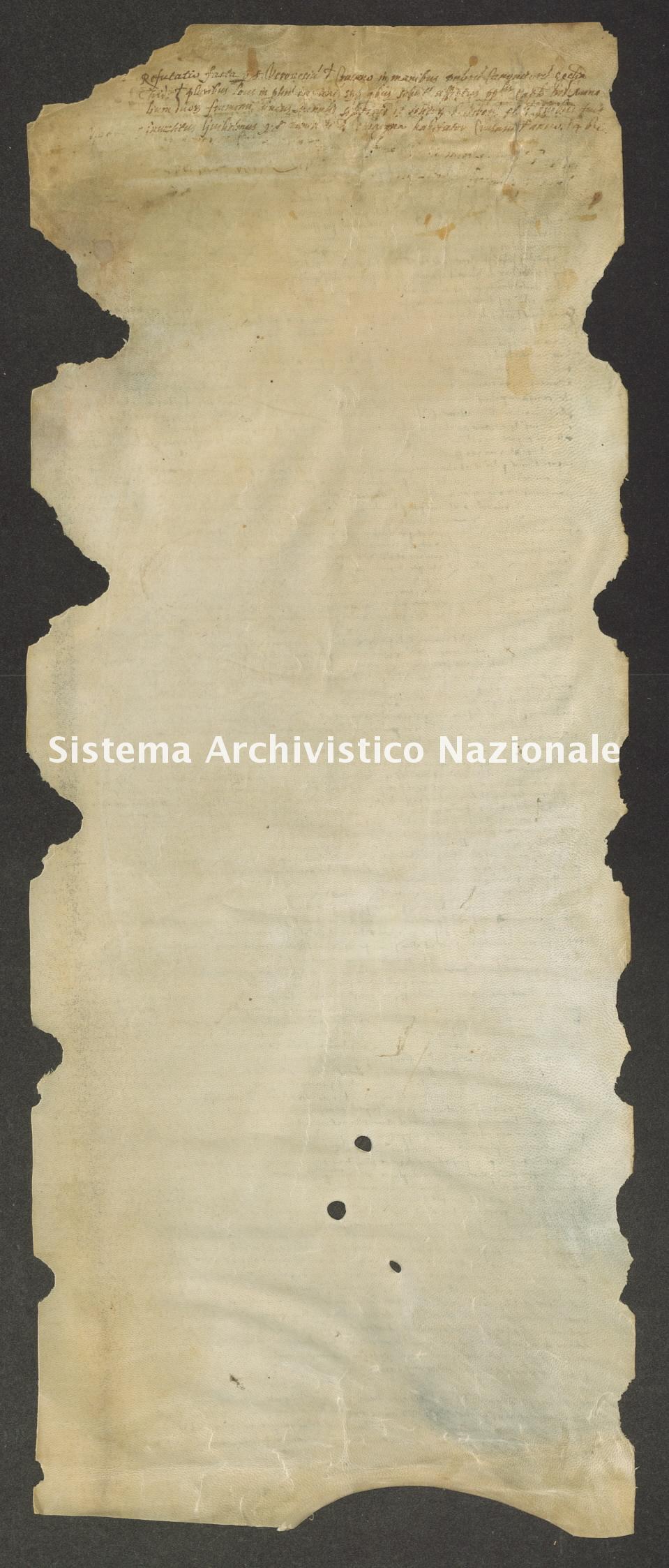 Archivio di Stato di Trento, Capitolo del Duomo di Trento, Pergamena ITASTNCAPITOLODUOMON0639