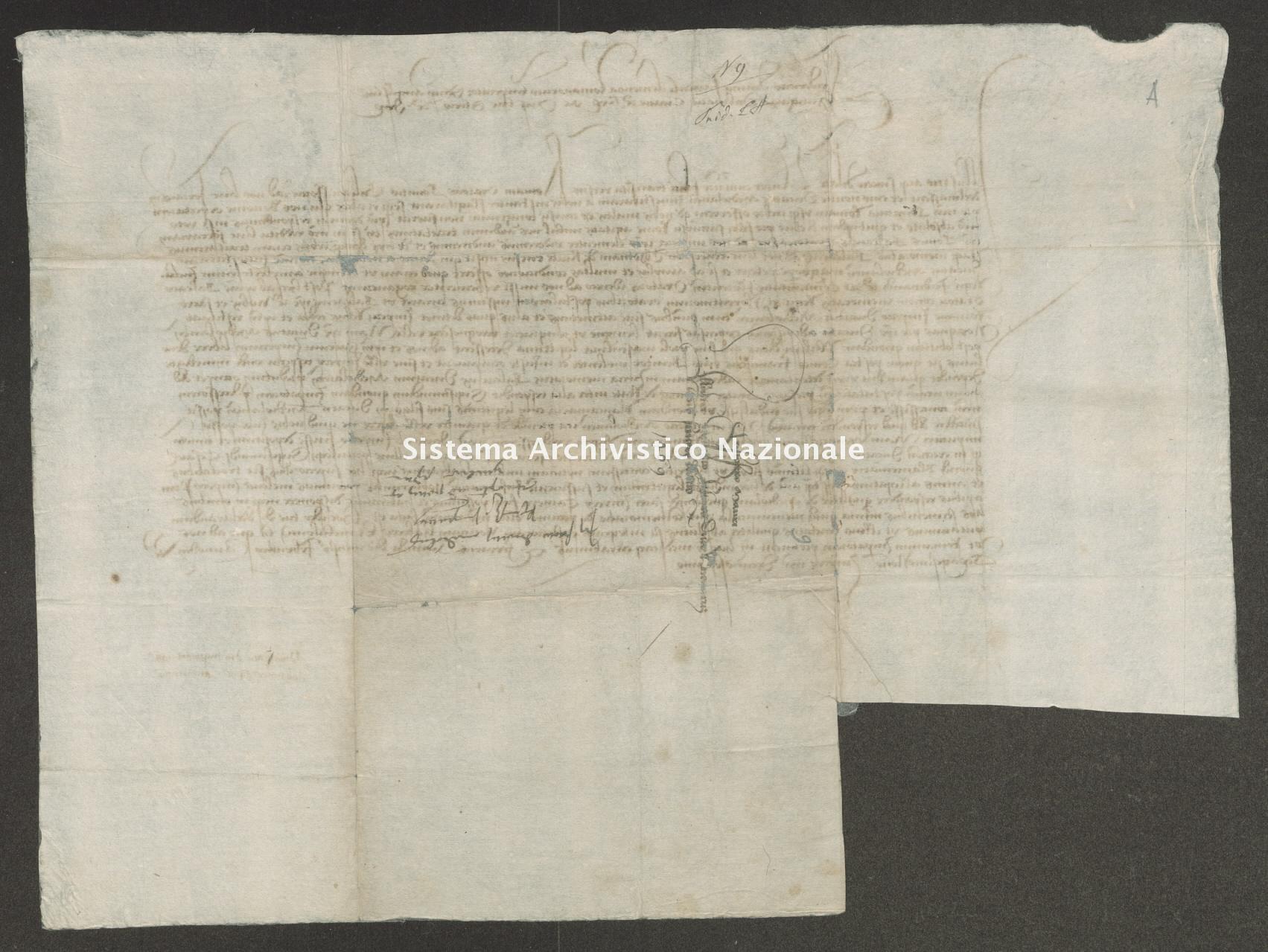 Archivio di Stato di Trento, Capitolo del Duomo di Trento, Pergamena ITASTNCAPITOLODUOMON1240