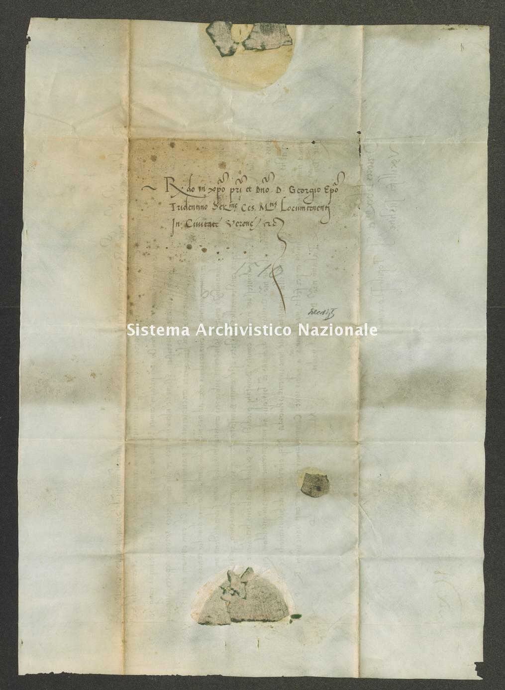 Archivio di Stato di Trento, Capitolo del Duomo di Trento, Pergamena ITASTNCAPITOLODUOMON1268_02
