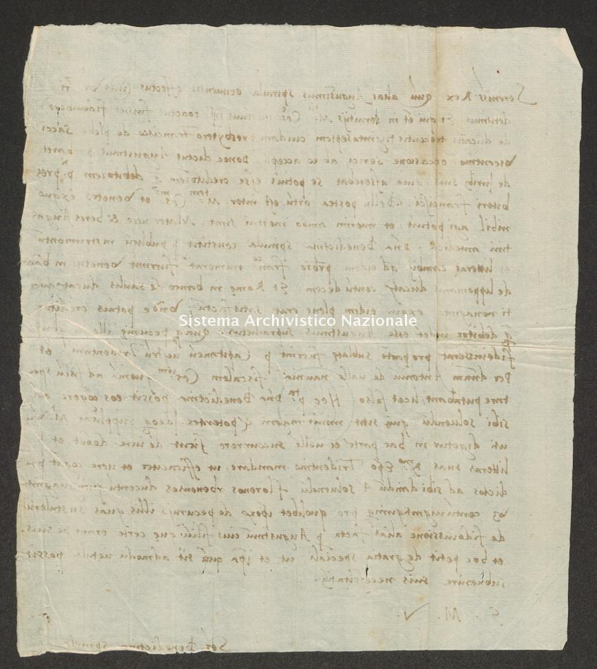 Archivio di Stato di Trento, Capitolo del Duomo di Trento, ITASTNCAPITOLODUOMON1309, Pergamena ITASTNCAPITOLODUOMON1309_01