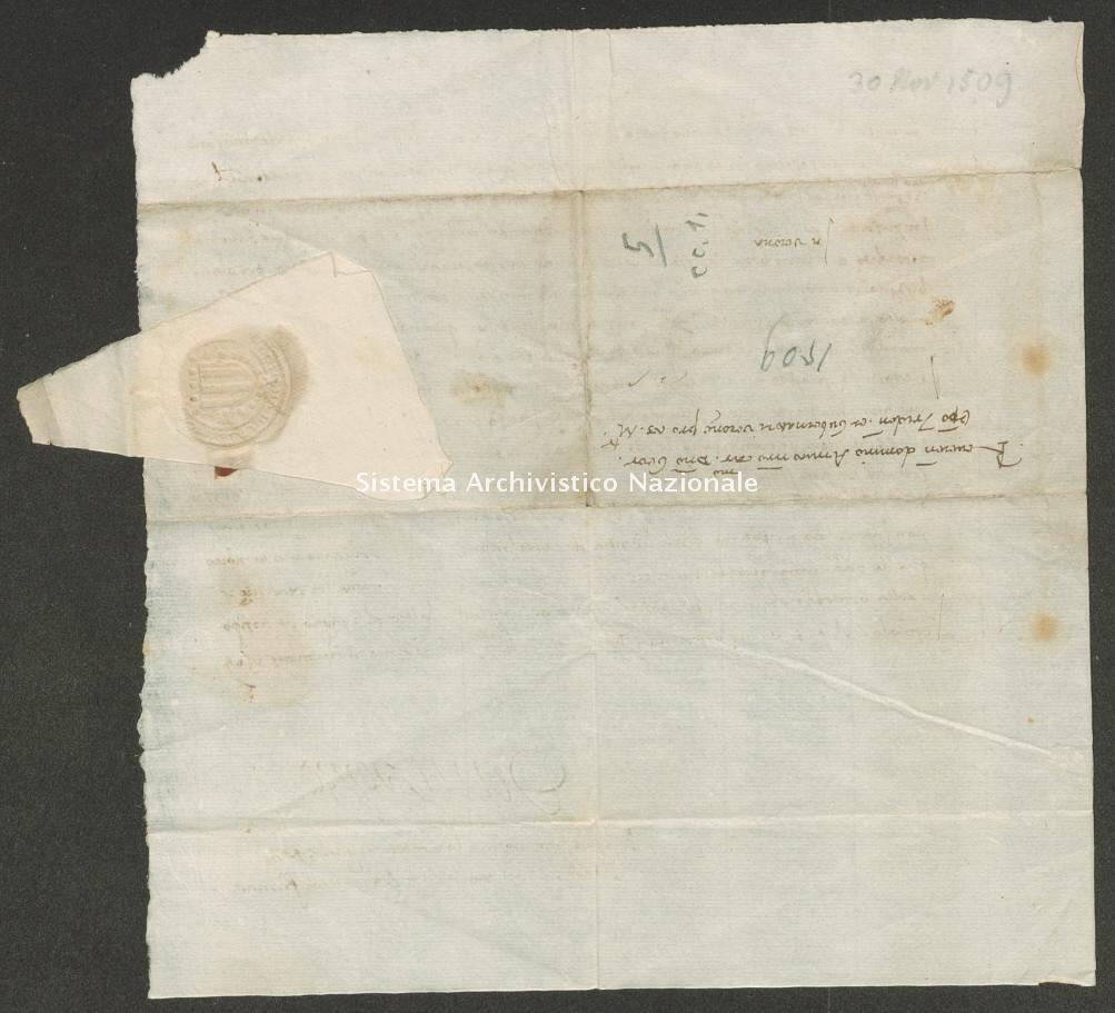 Archivio di Stato di Trento, Capitolo del Duomo di Trento, ITASTNCAPITOLODUOMON1271, Pergamena ITASTNCAPITOLODUOMON1271_04