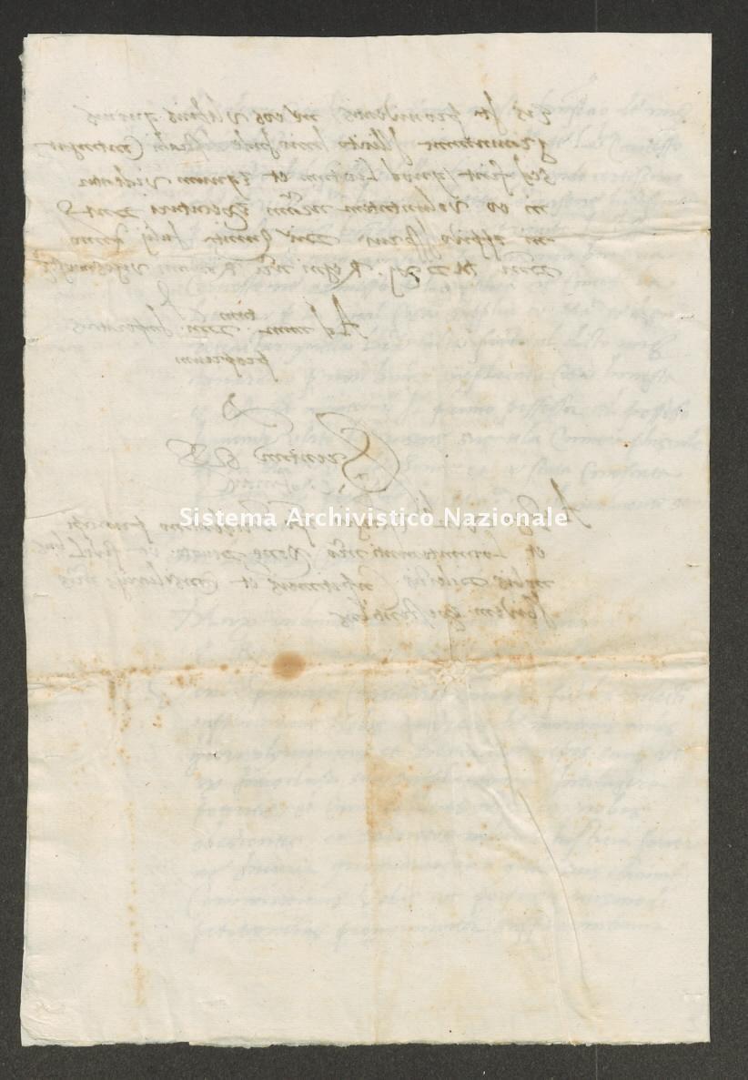 Archivio di Stato di Trento, Capitolo del Duomo di Trento, ITASTNCAPITOLODUOMON1282, Pergamena ITASTNCAPITOLODUOMON1282_01