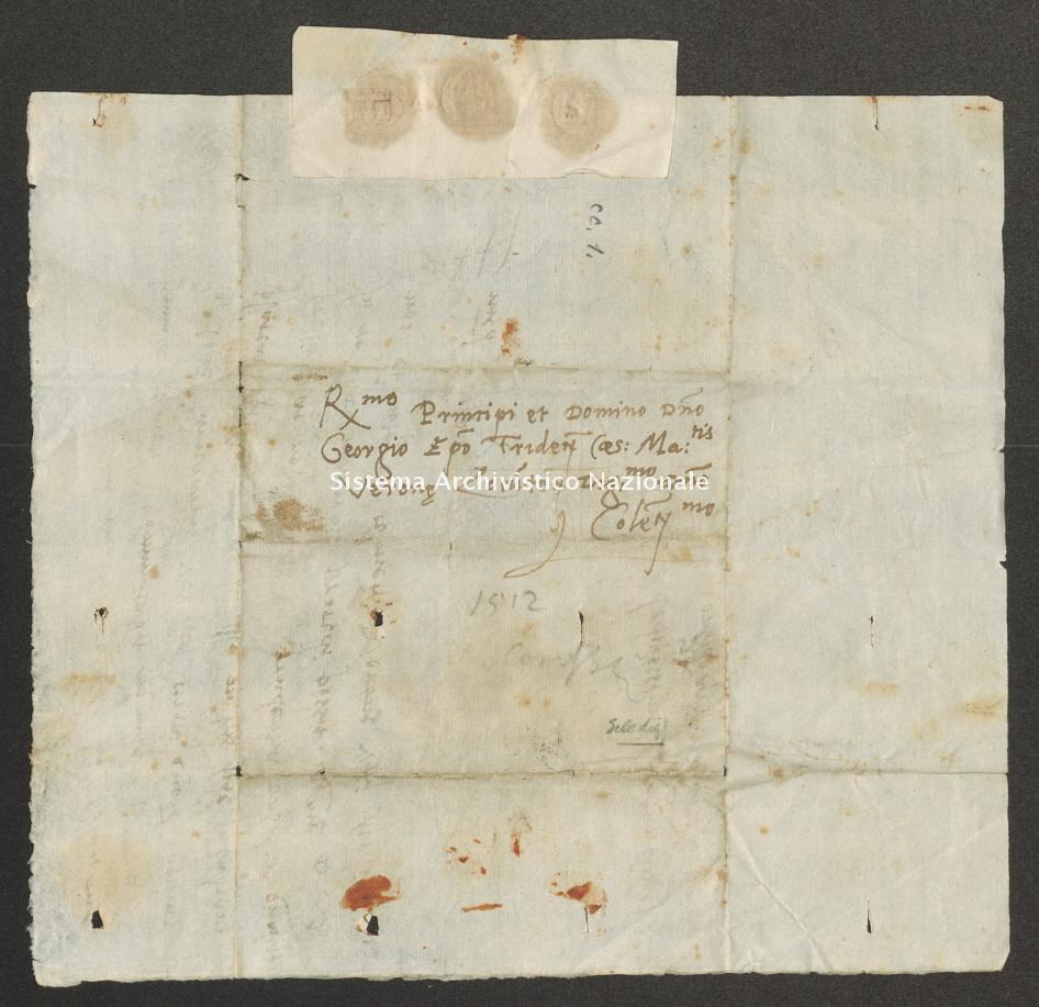 Archivio di Stato di Trento, Capitolo del Duomo di Trento, ITASTNCAPITOLODUOMON1282, Pergamena ITASTNCAPITOLODUOMON1282_09