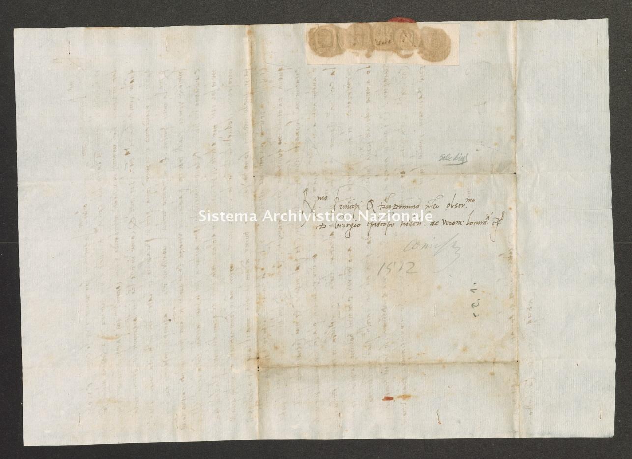 Archivio di Stato di Trento, Capitolo del Duomo di Trento, ITASTNCAPITOLODUOMON1282, Pergamena ITASTNCAPITOLODUOMON1282_11