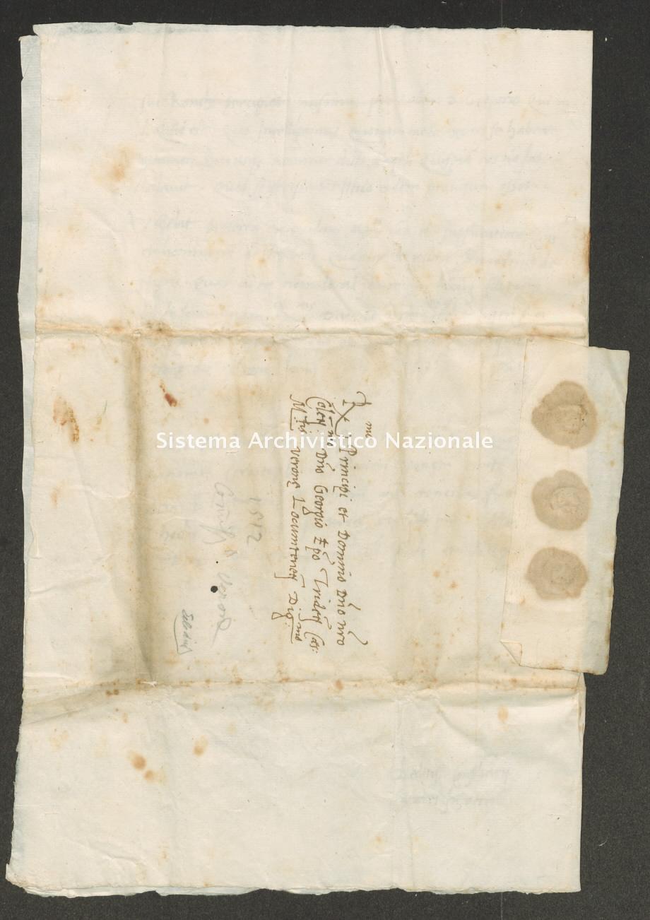 Archivio di Stato di Trento, Capitolo del Duomo di Trento, ITASTNCAPITOLODUOMON1282, Pergamena ITASTNCAPITOLODUOMON1282_15