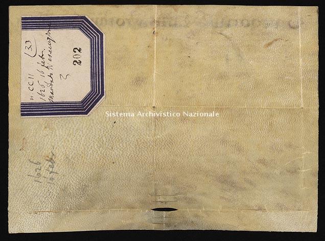 Archivio di Stato di Ancona, Comune di Ancona, Comune di Ancona (antico regime), Pergamene, Pergamena n. 202