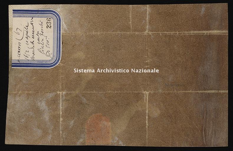 Archivio di Stato di Ancona, Comune di Ancona, Comune di Ancona (antico regime), Pergamene, Pergamena n. 236