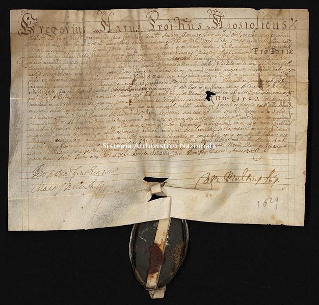 Archivio di Stato di Ancona, Comune di Ancona, Comune di Ancona (antico regime), Pergamene, Pergamena n. 480