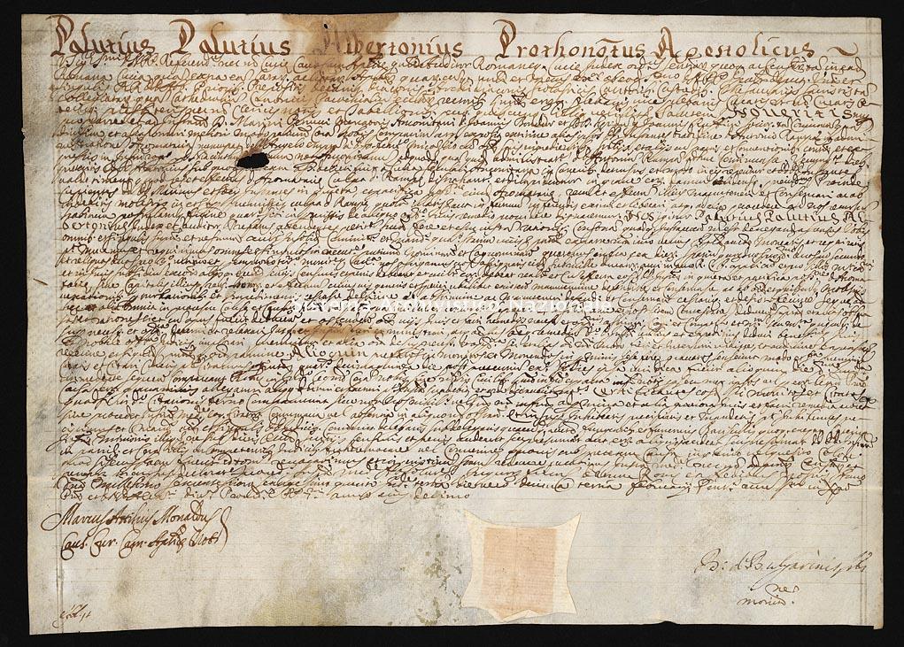 Archivio di Stato di Ancona, Comune di Ancona, Comune di Ancona (antico regime), Pergamene, Pergamena n. 552