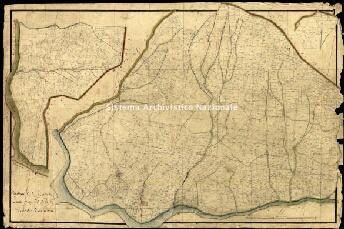 Archivio di Stato di Genova, Section E de Casale. Levée par Brisolese Geometre Secondaire, Segnatura: 5/Casale. Comune di Bolano