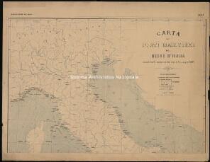 Archivio di Stato di Genova, Album dei Porti del Regno. Carta dei porti marittimi del Regno d'Italia, Segnatura: 1